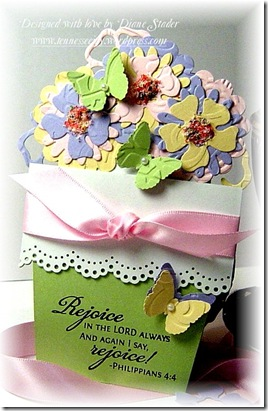 TLC215 Happy Easter Flower Pot