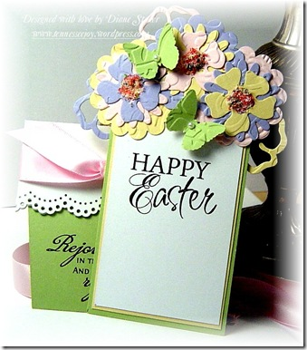 TLC215 Happy Easter Flower Pot- Insert