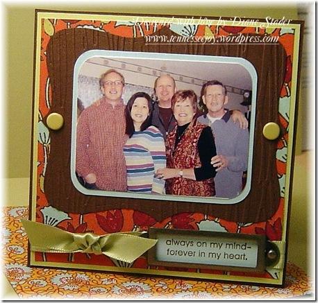 Family Memories CSS2SOA