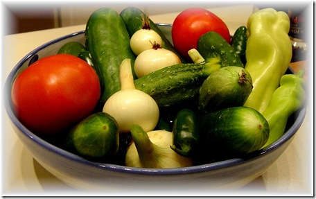 Bounty from Nanny's Garden-